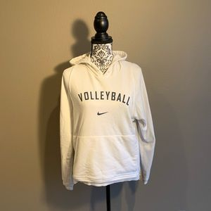 Nike White Volleyball Hoodie